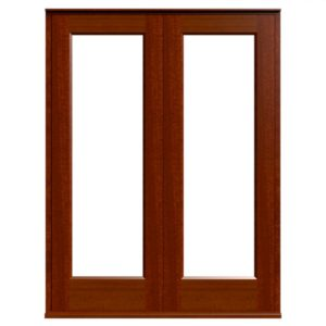 Casement Door D1-2 - Sapele