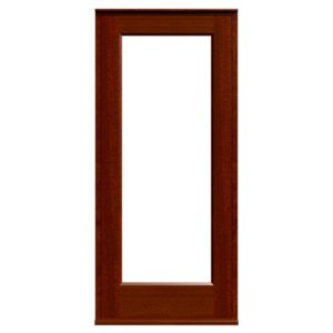 Casement Door D1-Sapele