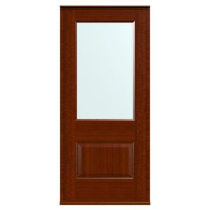 Casement Door D2 Raised-1 - Sapele