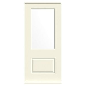Casement Door D2 Raised-1 - White