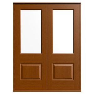 Casement Door D2 Raised-2 - Oak