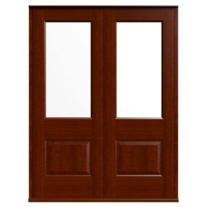 Casement Door D2 Raised-2 - Sapele