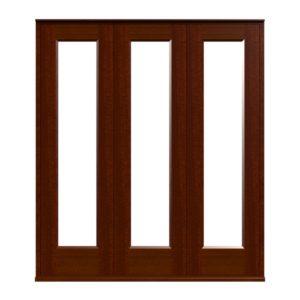 Sliding Folding Doors -D1-3 -Sapele