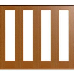 Sliding Folding Doors -D1-4-Oak
