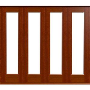 Sliding Folding Doors -D1-4 -Sapele