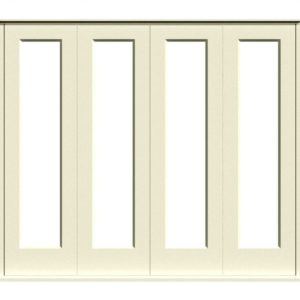 Sliding Folding Doors -D1-4 -White