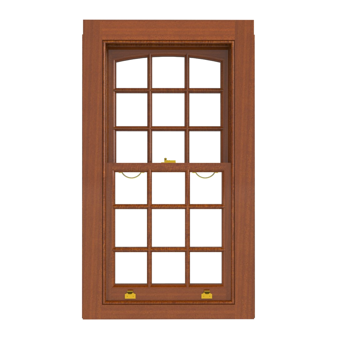 Traditional Sliding Sash Window PAT M Meranti(inside)
